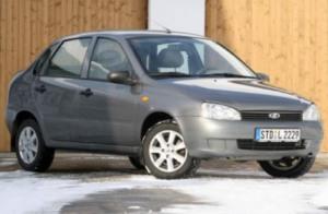 тест автомобилей Lada Kalina