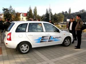 Электромобиль Лада Калина: ELLada поедет на курорты Кавказа