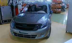 Lada Kalina 2 презентовали на Московском международном автосалоне